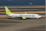 uhfxさんが、羽田空港で撮影したソラシド エア 737-881の航空フォト(飛行機 写真・画像)