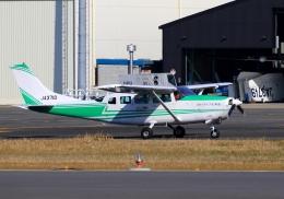 LOTUSさんが、八尾空港で撮影したアドバンス・エア・スポーツ T207A Turbo Stationair 7の航空フォト(飛行機 写真・画像)