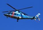 LOTUSさんが、八尾空港で撮影した岡山県警察 A109E Powerの航空フォト(飛行機 写真・画像)