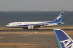 uhfxさんが、羽田空港で撮影した全日空 777-281の航空フォト(飛行機 写真・画像)