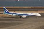 uhfxさんが、羽田空港で撮影した全日空 A321-272Nの航空フォト(飛行機 写真・画像)