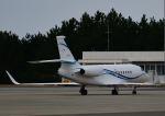 だだちゃ豆さんが、庄内空港で撮影した静岡エアコミュータ Falcon 2000EXの航空フォト(飛行機 写真・画像)