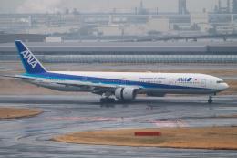 はやたいさんが、羽田空港で撮影した全日空 777-381の航空フォト(飛行機 写真・画像)