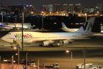 スポット110さんが、羽田空港で撮影したワモス・エア 747-4H6の航空フォト(飛行機 写真・画像)