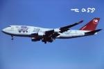 tassさんが、成田国際空港で撮影したノースウエスト航空 747-451の航空フォト(飛行機 写真・画像)
