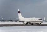 Cygnus00さんが、新千歳空港で撮影したアメリカ企業所有 737-7BC BBJの航空フォト(飛行機 写真・画像)
