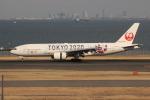 uhfxさんが、羽田空港で撮影した日本航空 777-246の航空フォト(飛行機 写真・画像)