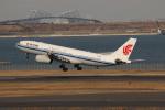 uhfxさんが、羽田空港で撮影した中国国際航空 A330-243の航空フォト(飛行機 写真・画像)