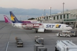 uhfxさんが、那覇空港で撮影したスカイマーク 737-8ALの航空フォト(飛行機 写真・画像)