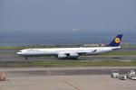 東空さんが、羽田空港で撮影したルフトハンザドイツ航空 A340-642の航空フォト(飛行機 写真・画像)