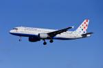 Frankspotterさんが、フランクフルト国際空港で撮影したクロアチア航空 A320-214の航空フォト(飛行機 写真・画像)