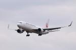 KAZFLYERさんが、成田国際空港で撮影した日本航空 767-346/ERの航空フォト(飛行機 写真・画像)