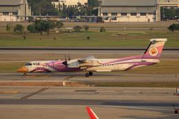 航空フォト:HS-DQB ノックエア DHC-8-400