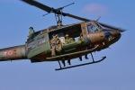 はるかのパパさんが、習志野演習場で撮影した陸上自衛隊 UH-1Jの航空フォト(飛行機 写真・画像)
