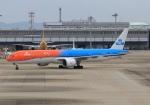 LOTUSさんが、関西国際空港で撮影したKLMオランダ航空 777-306/ERの航空フォト(飛行機 写真・画像)