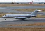 LOTUSさんが、関西国際空港で撮影したビスタジェット BD-700-1A10 Global 6000の航空フォト(飛行機 写真・画像)