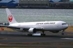 suu451さんが、羽田空港で撮影した日本航空 767-346の航空フォト(飛行機 写真・画像)