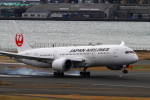 suu451さんが、羽田空港で撮影した日本航空 787-8 Dreamlinerの航空フォト(飛行機 写真・画像)