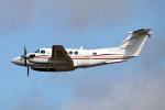 なごやんさんが、名古屋飛行場で撮影したダイヤモンド・エア・サービス 200 Super King Airの航空フォト(飛行機 写真・画像)