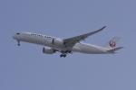 a.mashimaさんが、福岡空港で撮影した日本航空 A350-941XWBの航空フォト(飛行機 写真・画像)