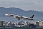 344さんが、福岡空港で撮影したシンガポール航空 787-10の航空フォト(飛行機 写真・画像)
