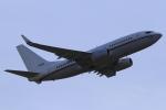 とらとらさんが、厚木飛行場で撮影したアメリカ海軍 C-40A Clipper (737-7AFC)の航空フォト(飛行機 写真・画像)