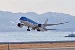 mild lifeさんが、関西国際空港で撮影したKLMオランダ航空 787-9の航空フォト(飛行機 写真・画像)