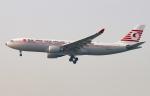 Asamaさんが、香港国際空港で撮影したターキッシュ・エアラインズ A330-203の航空フォト(飛行機 写真・画像)