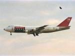 エルさんが、成田国際空港で撮影したノースウエスト航空 747-251F/SCDの航空フォト(飛行機 写真・画像)