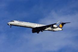 Frankspotterさんが、フランクフルト国際空港で撮影したルフトハンザ・シティライン CL-600-2D24 Regional Jet CRJ-900LRの航空フォト(飛行機 写真・画像)