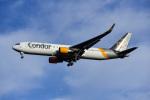 Frankspotterさんが、フランクフルト国際空港で撮影したコンドル 767-330/ERの航空フォト(飛行機 写真・画像)