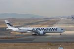meijeanさんが、関西国際空港で撮影したフィンエアー A350-941XWBの航空フォト(飛行機 写真・画像)