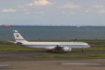 ケンジウムさんが、羽田空港で撮影したクウェート政府 A340-542の航空フォト(飛行機 写真・画像)