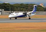 ふじいあきらさんが、伊丹空港で撮影したANAウイングス DHC-8-402Q Dash 8の航空フォト(飛行機 写真・画像)