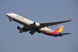 MOHICANさんが、福岡空港で撮影したアシアナ航空 A330-323Xの航空フォト(飛行機 写真・画像)