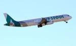 CL&CLさんが、成田国際空港で撮影したエアソウル A321-231の航空フォト(飛行機 写真・画像)