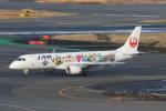 ANA744Foreverさんが、羽田空港で撮影したジェイ・エア ERJ-190-100(ERJ-190STD)の航空フォト(飛行機 写真・画像)