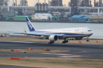 ANA744Foreverさんが、羽田空港で撮影した全日空 777-381/ERの航空フォト(飛行機 写真・画像)