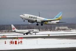 yuu@HKD/RJCHさんが、新千歳空港で撮影したAIR DO 737-781の航空フォト(飛行機 写真・画像)