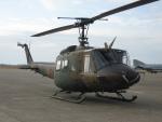 石鎚さんが、茨城空港で撮影した陸上自衛隊 UH-1Jの航空フォト(飛行機 写真・画像)