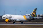 gomaさんが、ミュンヘン・フランツヨーゼフシュトラウス空港で撮影したコンドル A320-212の航空フォト(飛行機 写真・画像)