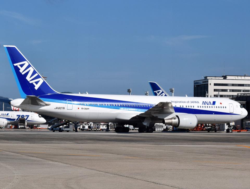nontan8さんの全日空 Boeing 767-300 (JA607A) 航空フォト