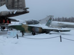 Smyth Newmanさんが、モニノ空軍博物館で撮影したロシア企業所有 Yak-130の航空フォト(飛行機 写真・画像)