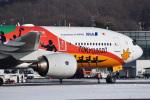 森の妖精さんが、函館空港で撮影した全日空 777-281/ERの航空フォト(飛行機 写真・画像)