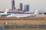 OS52さんが、成田国際空港で撮影したFalcon Landing LLC G650 (G-VI)の航空フォト(飛行機 写真・画像)