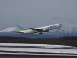 たにしさんが、新千歳空港で撮影したAIR DO 767-381の航空フォト(飛行機 写真・画像)