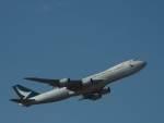 たにしさんが、成田国際空港で撮影したキャセイパシフィック航空 747-867F/SCDの航空フォト(飛行機 写真・画像)