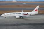 青春の1ページさんが、中部国際空港で撮影した日本トランスオーシャン航空 737-8Q3の航空フォト(飛行機 写真・画像)
