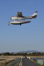 Gambardierさんが、岡南飛行場で撮影した岡山航空 T206H Turbo Stationairの航空フォト(飛行機 写真・画像)