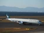 たにしさんが、中部国際空港で撮影したキャセイパシフィック航空 A350-1041の航空フォト(飛行機 写真・画像)